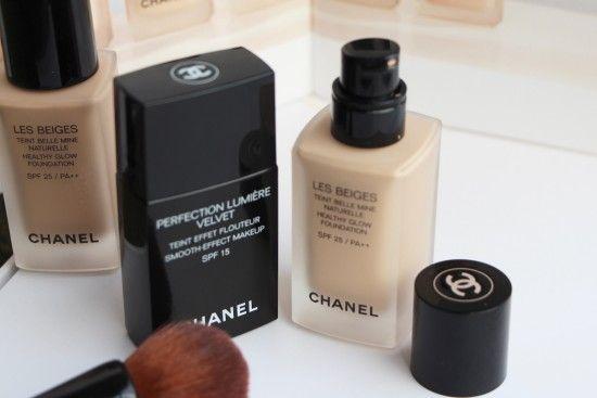 17c431570de Chanel Foundations  Les Beiges vs Perfection Lumiere Velvet