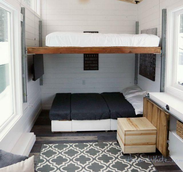 Diy Elevator Bed For Tiny House Knock Off Wood Bloglovin