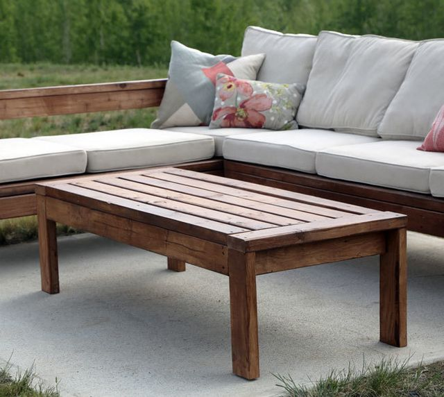 2x4 outdoor coffee table ana white bloglovin for Coffee tables 2x4