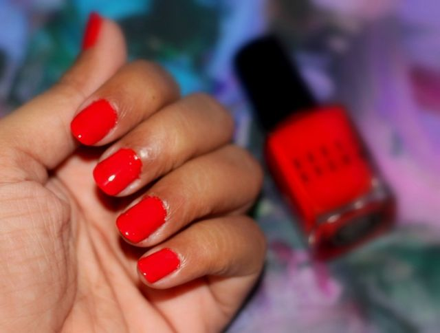 Cherry Tomato Is Very Pigmented Two Coats Give Opaque Finish It Dries Up Pretty Fast Making Layering Easy Bobbi Brown Nail Polish Stays On My Nails For
