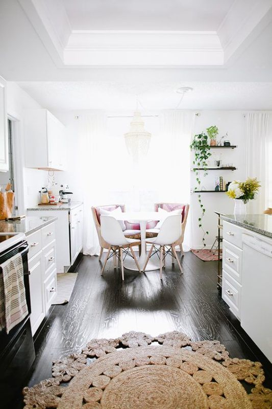 6 boho kitchens perfect for a dreamy brunch daily dream decor bloglovin - Applying the pretty copper accessories into your kitchen ...