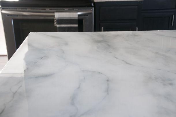 Faux Marble Countertops Diy Earnest Home Co Bloglovin