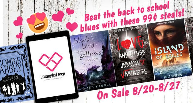 Entangled Teen's Beat the Back to School Blues Sale + Giveaway | A ...