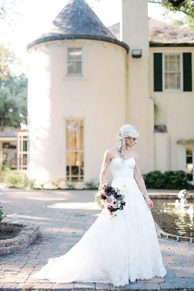 Lyric louisiana rain lyrics : Michelle and Josh's Louisiana Garden Wedding | Grey Likes Weddings ...
