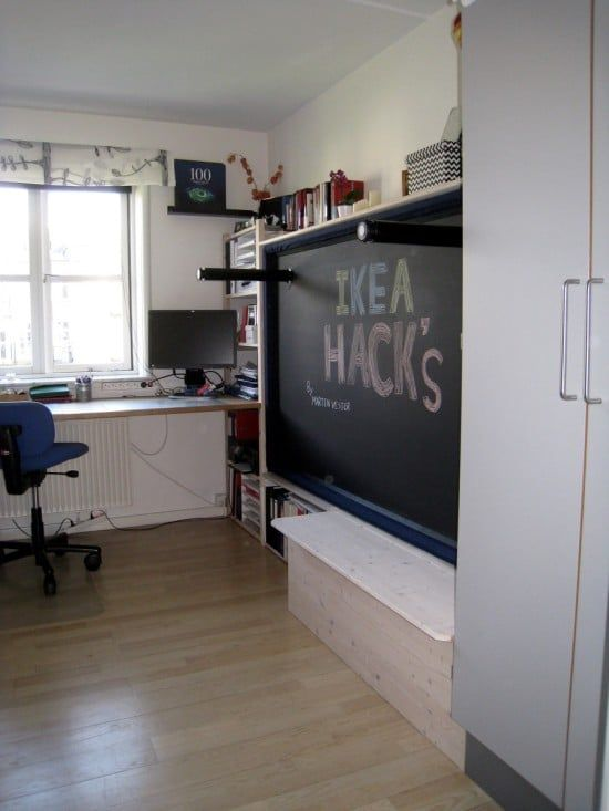 Hack An Ivar Murphy Bed Ikea Hackers Bloglovin