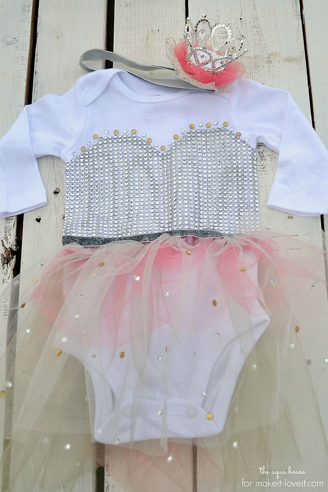 No Sew Princess Costume For Baby Make It And Love It Bloglovin