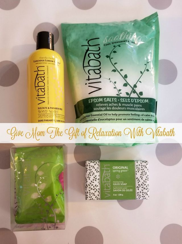 Give Mom The Gift of Relaxation With Vitabath + Giveaway ...
