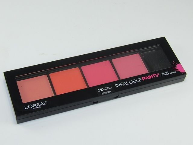 L'Oreal Infallible Paints Blush Palette Review & Swatches ...