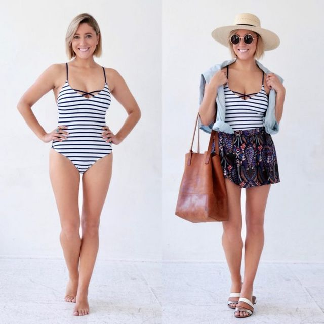 fb6c19a1a3 How To Take Your Swimsuit from Beach to Brunch! | My Style Pill ...