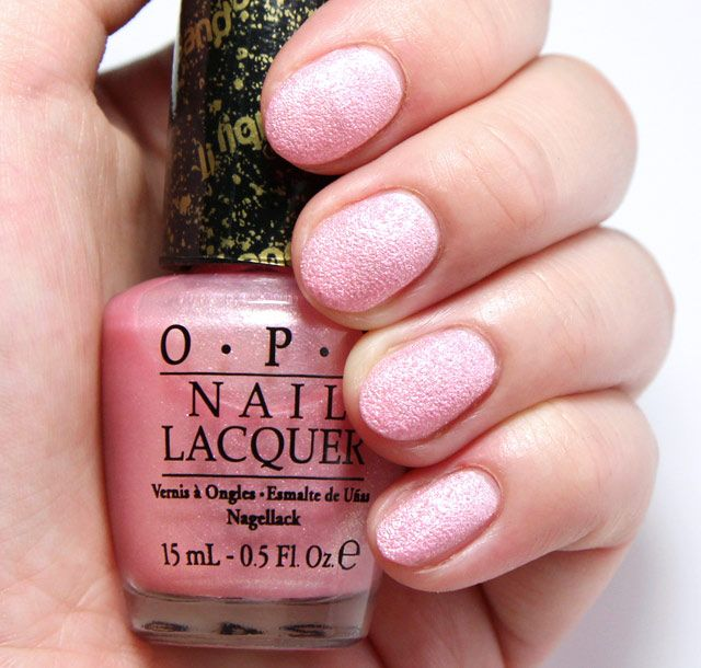 Opi Light Pink Sparkle Nail Polish - Creative Touch