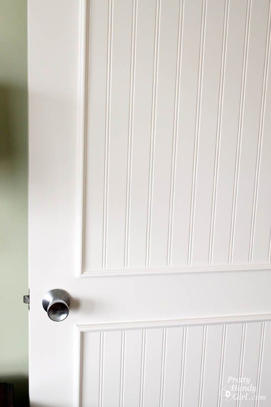How To Add Molding Panels To A Flat Door Pretty Handy