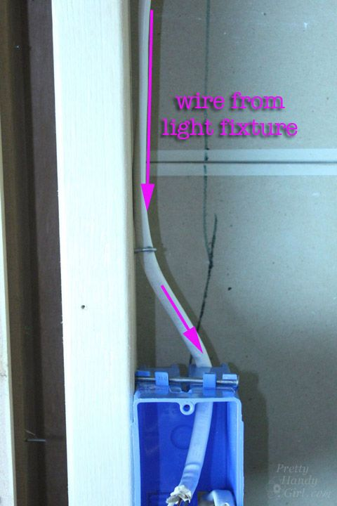 How to Add a Switch to a Light Fixture | Pretty Handy Girl | Bloglovin\'