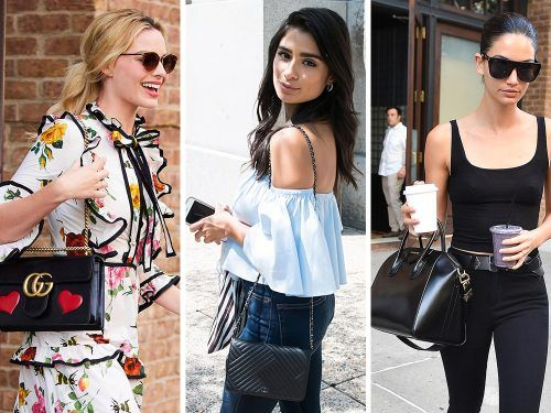 0338c56c4be9 Celebs Hit the Press Circuit with Bags from Gucci