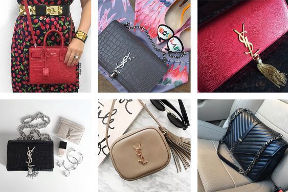 fc5088a6d3b Saint Laurent Bags Steal the Spotlight in This Week's Instagram Roundup