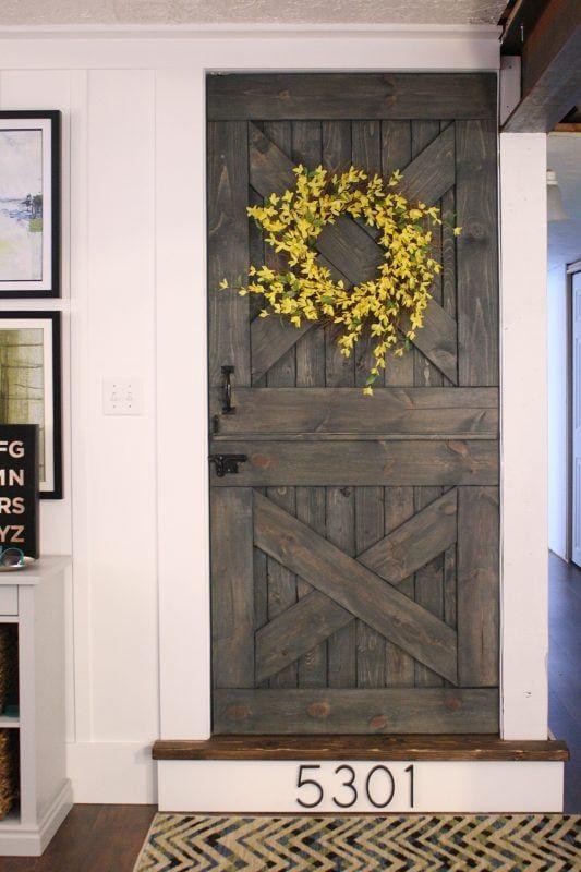 Cheap Easy Diy Barn Door Remodelaholic Bloglovin