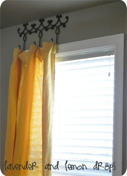 25 Creative Diy Curtain Rod Tutorials Remodelaholic