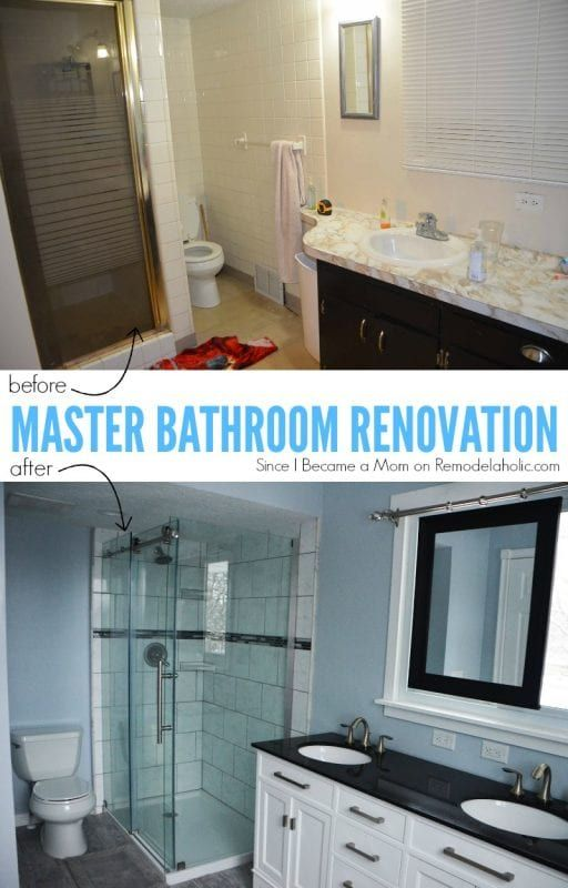 Master Bathroom Remodel With Sliding Mirror Over The Window By Cheryl From Since I Became A Mom