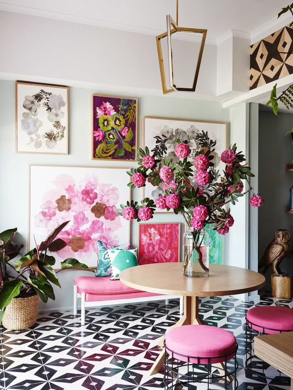 Inspiration File: Pretty Floral French Style | Remodelaholic ...