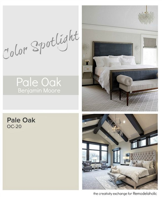 Color spotlight benjamin moore pale oak remodelaholic - How warm does it have to be to paint outside ...