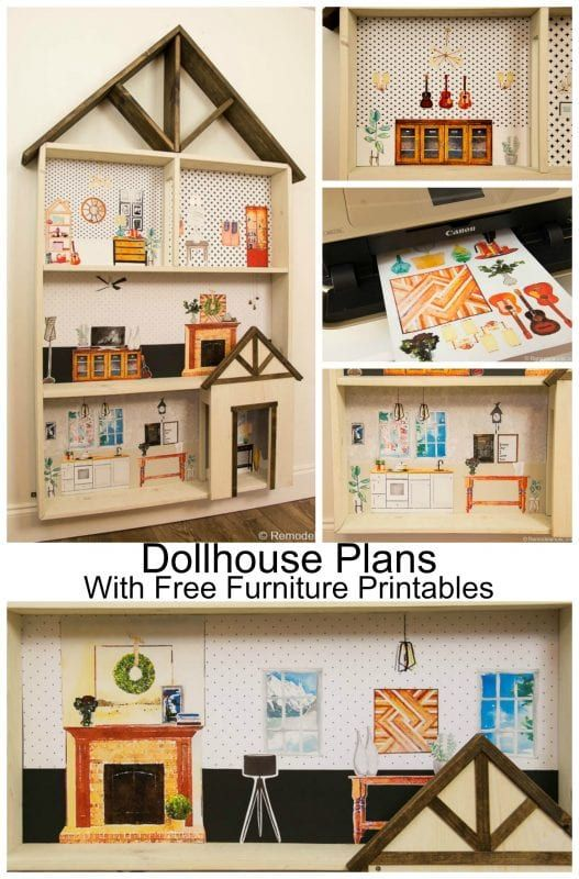 Can You Paint Plastic Dollhouse