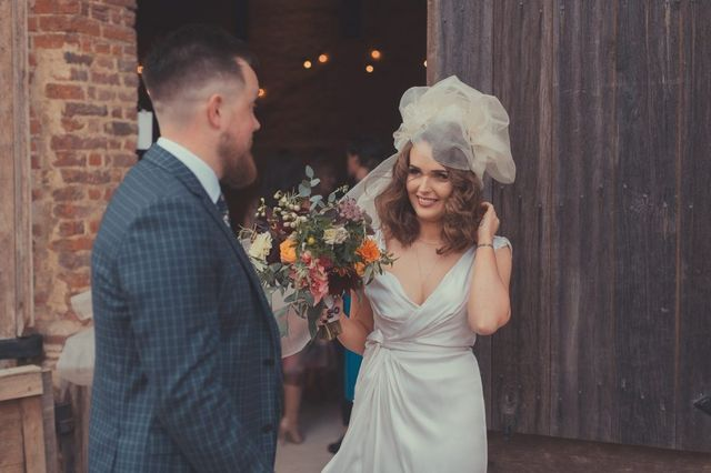 3d241ea765 I can t even begin to tell you how excited I am to bring you this wedding  at The Tithe Barn in Hampshire today. It is literally a fashionistas dream.