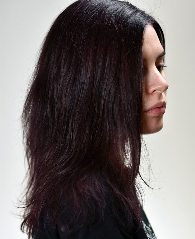 Bleaching Out Dark Permanent Hair Dye And Using Brightly Coloured