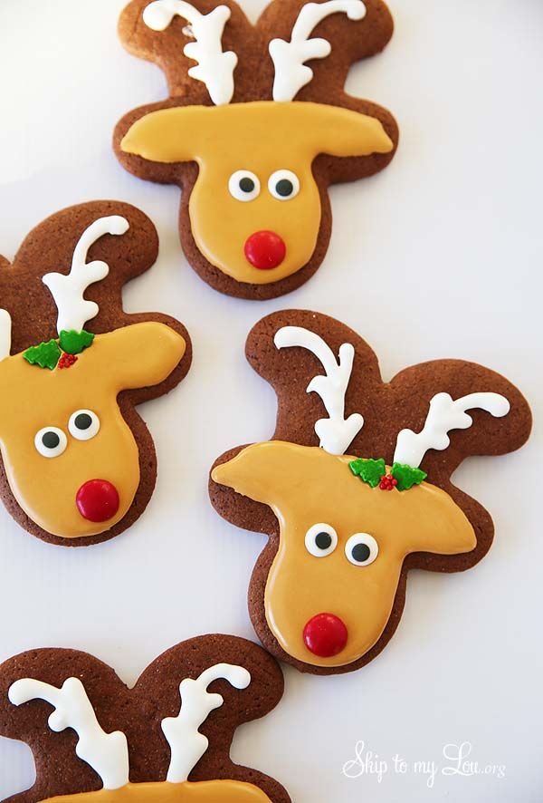 Reindeer Sugar Cookies Skip To My Lou Bloglovin