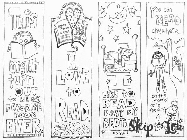 Eloquent image intended for free printable coloring bookmarks