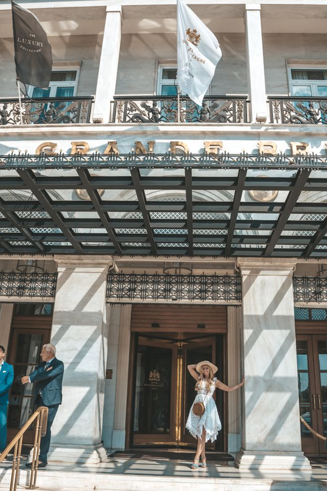 8534420c1329a Hotel Grande Bretagne couldn t possibly be more reflective of the city  having been an utterly glamorous Grande Dame in the centre of the city  since 1874 and ...