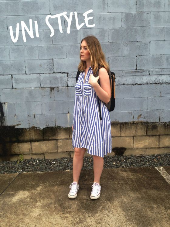 Billy J Boutique Intuition Dress   Converse Chuck Taylor Sneakers 8409683413