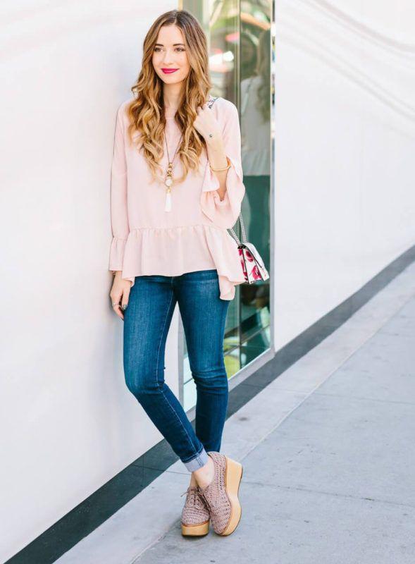 22101883f4d4e5 16 Ways to Wear the Bell Sleeves Trend | Sydne Style | Bloglovin'