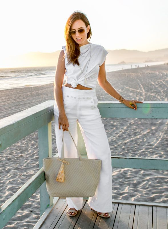 3df0f8dd30 It s time to bring out your summer whites! A white tee goes with everything  from white pants and jeans to a flirty skirt.