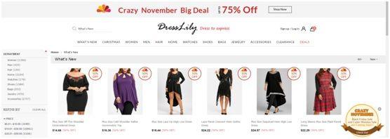 50cc22fbcce Hay diversas opciones para todos los amantes de la moda y en mejores precios  del año. En DRESSLILY quieren presentarnos ...