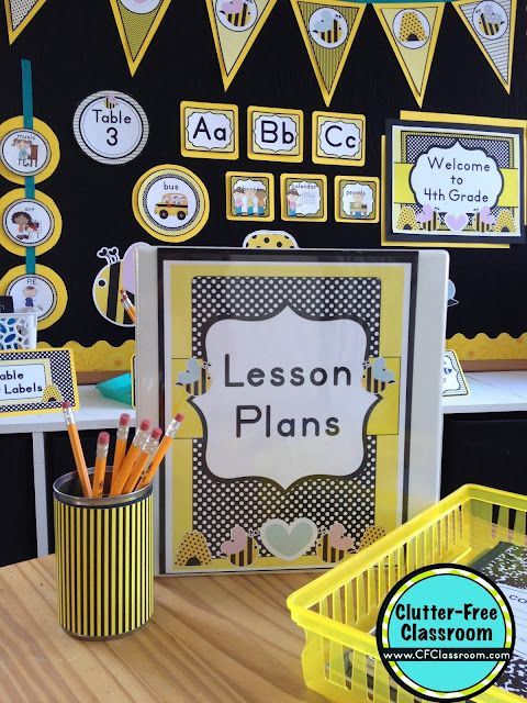 Classroom Decoration Free Download ~ Bees themed classroom ideas printable