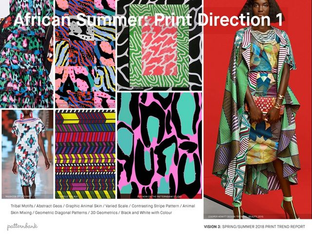 2646ce2f7cd5 Vision 3  SS18 Print Trend Themes African Summer   Drawn Botanicals   Pale  Garden