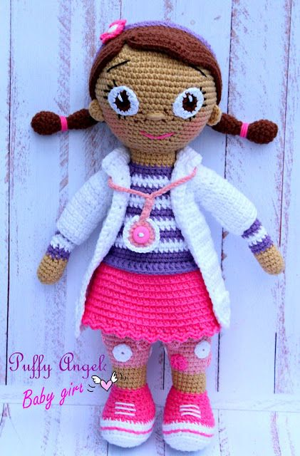 Ravelry: Chibi Eleventh Doctor pattern by Vilma I | 640x421