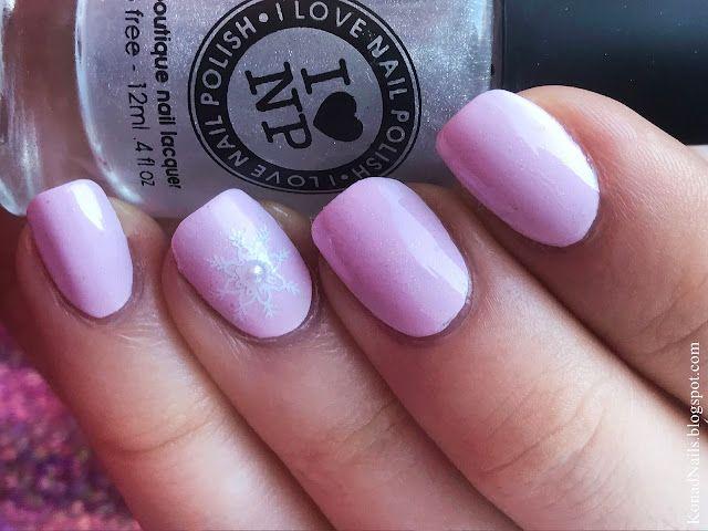 Sweet pink nail art | Konad Addict | Bloglovin\'