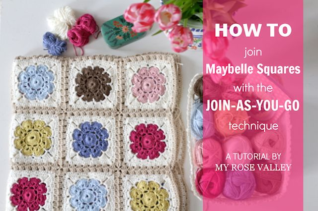 How To Join Maybelle Squares With The Join As You Go Technique My