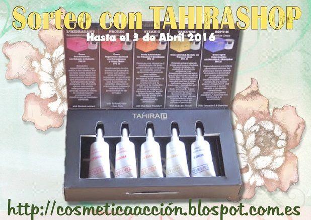 """996749b474 EL PREMIO Una de vosotras ganará el """"Welcome Pack"""" de TAHIRAH que contiene  5 mini tallas de 5 ml cada una. Dentro de la cajita encontramos las  siguientes ..."""