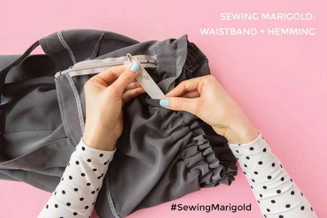 42d7d5d2b7 Sewing Marigold: Waistband and Hemming | Tilly and the Buttons ...