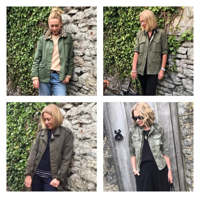 4b98524e9319 Top left Gap jacket, still available here Top right, Topshop jacket, this  seasons version here Bottom left Topshop jacket, similar here Bottom right,  ...