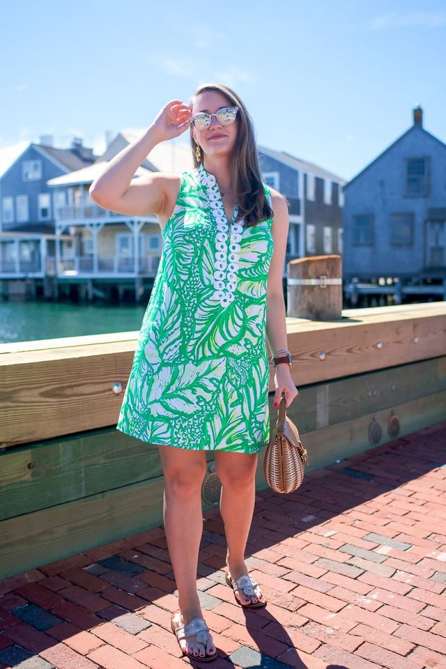 68f8740d8555 Lilly Pulitzer Jane Shift in Nantucket
