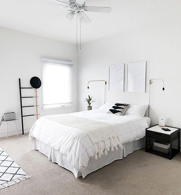 2 IDEAS PARA DECORAR con éxito tu dormitorio en blanco & negro ...