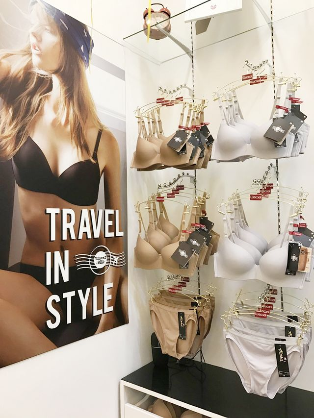 d3b17fbdbe This collection is perfect for travelers like me and Ana! These stylish bras  are made out of natural fiber (that s why it s super comfortable)
