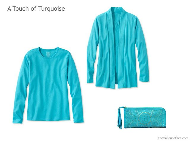 A Touch Of Turquoise With Six Neutrals The Vivienne