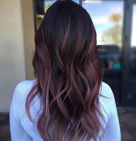 Top 6 Flattering Highlights For Black Hair Hairstyles Hair Color