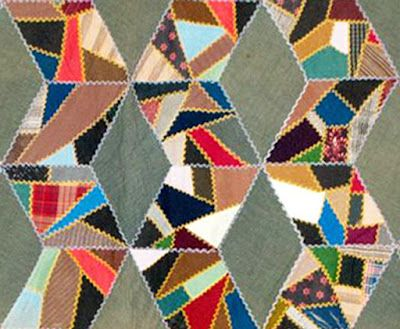 Quilt It Dorry.Contained Crazy Quilts Barbara Brackman S Material Culture