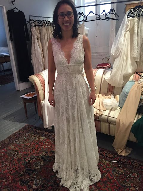 While There Were Things I Liked About The Dress Such As Overall Lace And Scalloped Neckline To Me It Looked Too Much Like A Nightgown