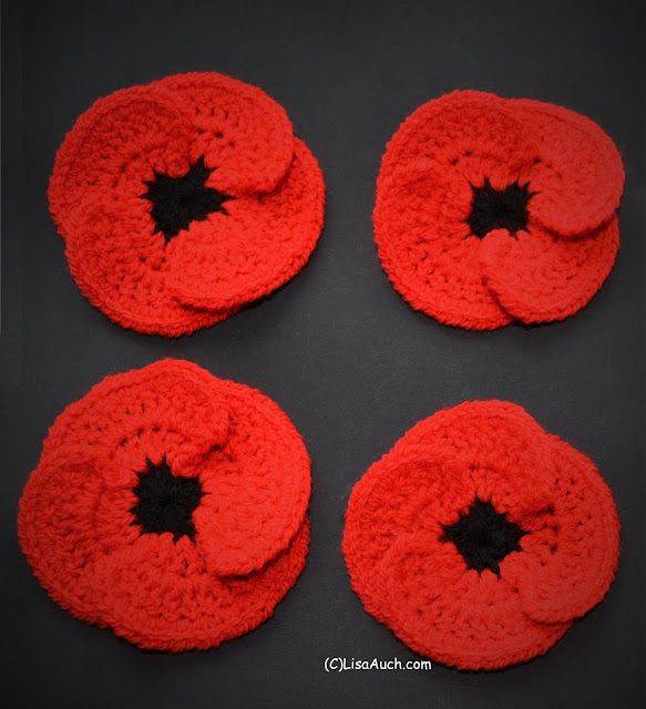 Free Crochet Poppy Patterns Free Crochet Patterns Bloglovin