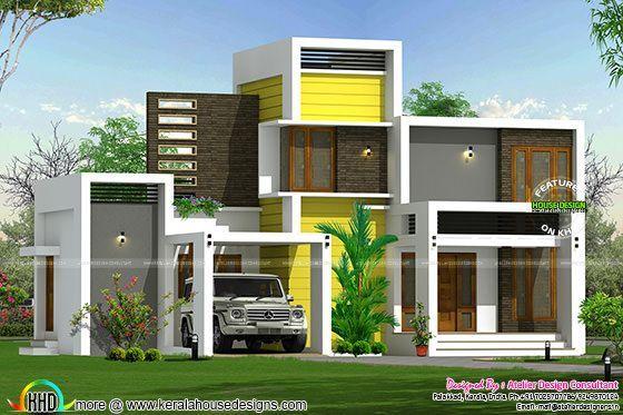 16 Lakhs House Plan Architecture Kerala Home Design